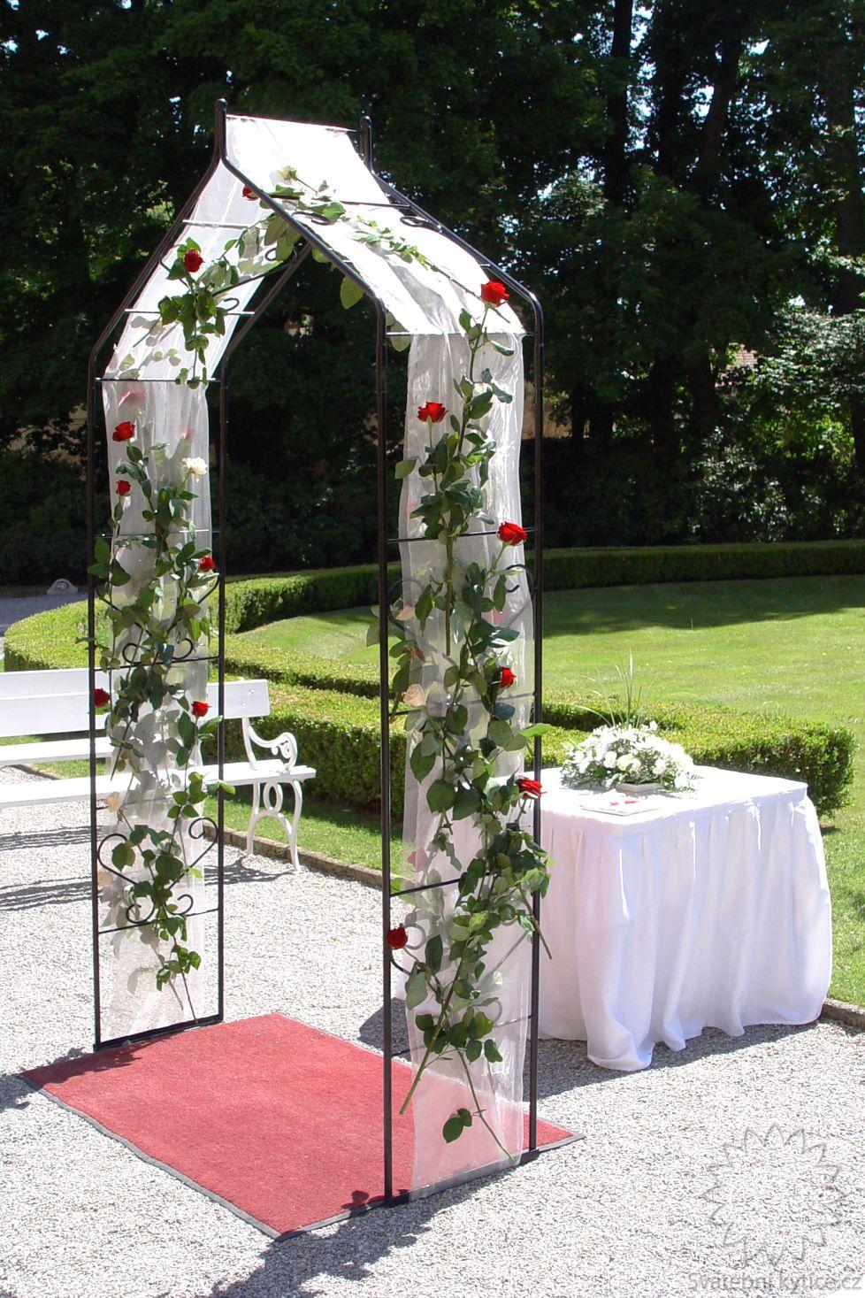 Kvetinovy Svatebni Oblouk 205 Svatebni Kytice Cz