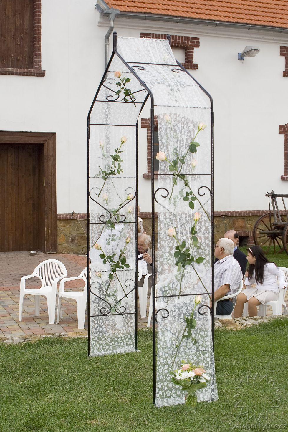 Kvetinovy Svatebni Oblouk 403 Svatebni Kytice Cz