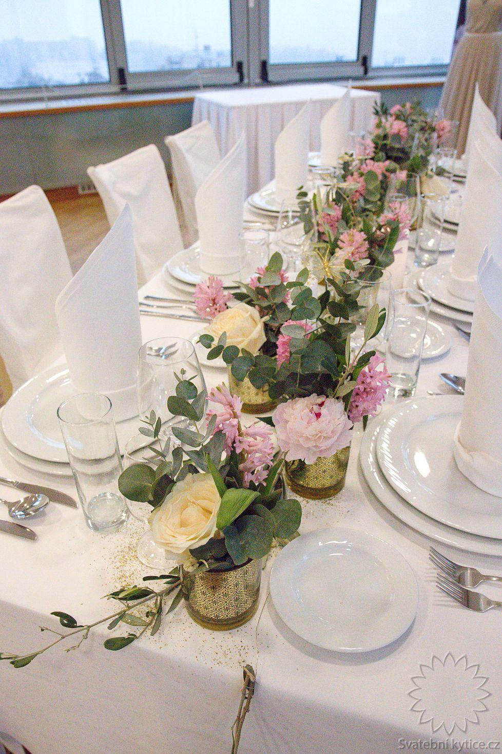 a117a1a98 Květinová výzdoba stolu (743/2595) | Svatební kytice.cz